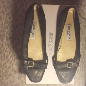 Jimmy Choo flats with buckle 38 8 driving shoes